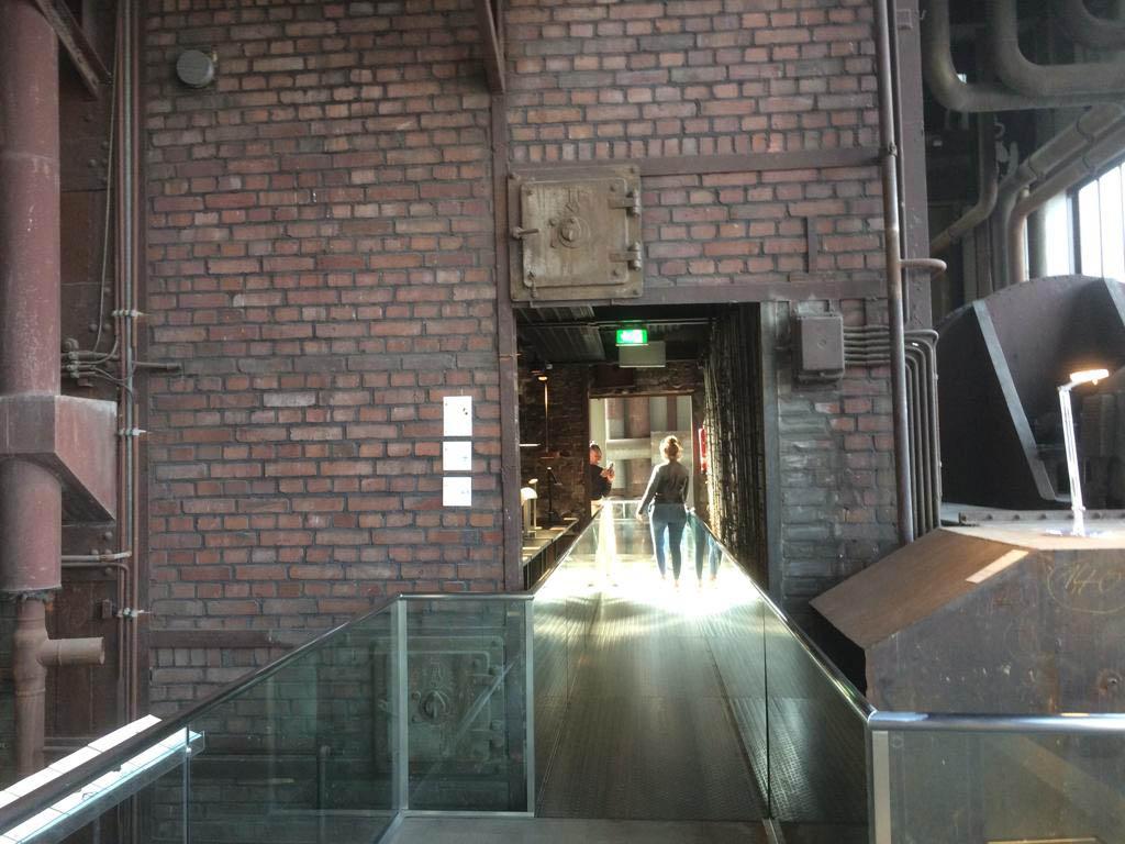 RWB Essen - Besuch des Red Dot Design Museums - Ausstellungsräume des Museums