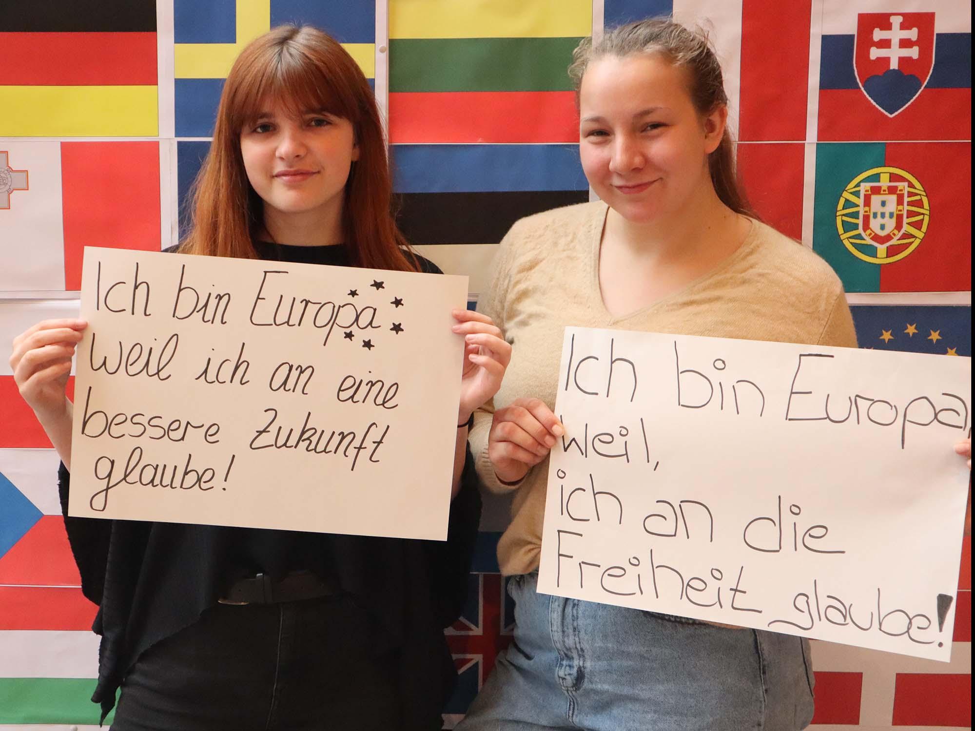 """RWB Essen - RWB Europa Aktion - Fotoaktion """"Ich bin Europa, weil..."""""""