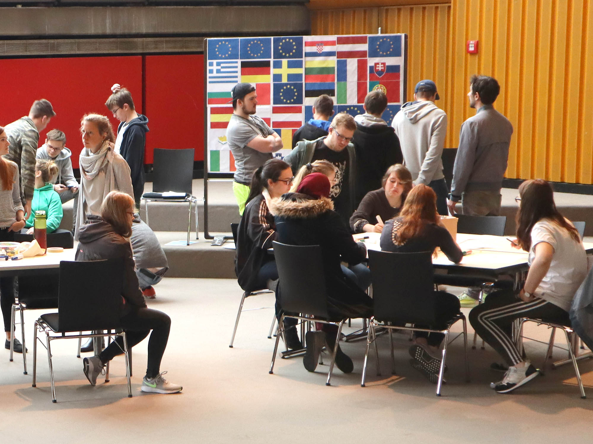 RWB Essen - RWB Europa Aktion - FotoaktiowRWB Essen - RWB Europa Aktion - Spiele rund um Europa
