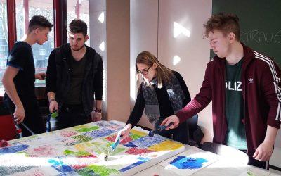 Kreativer Projekttag in der Abteilung Wirtschaft und Verwaltung