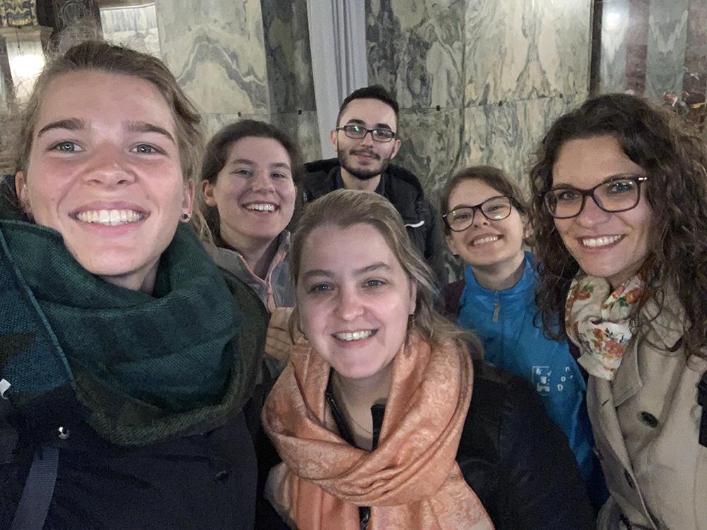 RWB Essen - Ein Tag im Labor des Uniklinikums Aachen - Gruppenbild im Aachener Dom
