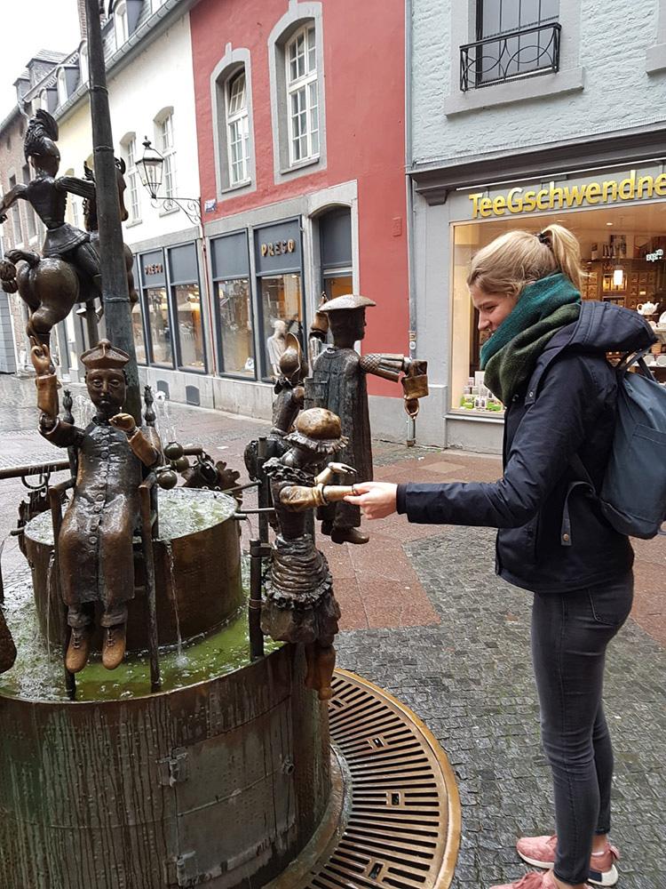 RWB Essen - Ein Tag im Labor des Uniklinikums Aachen -  Besuch der Aachener Innenstadt