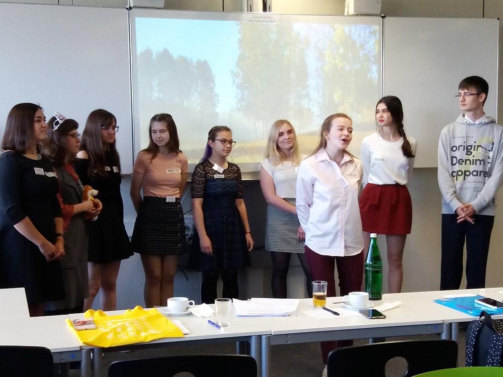 RWB Essen - Besuch aus Nischni Nowgorod - Die russische Studentengruppe überrascht mit einem tollen Programm.