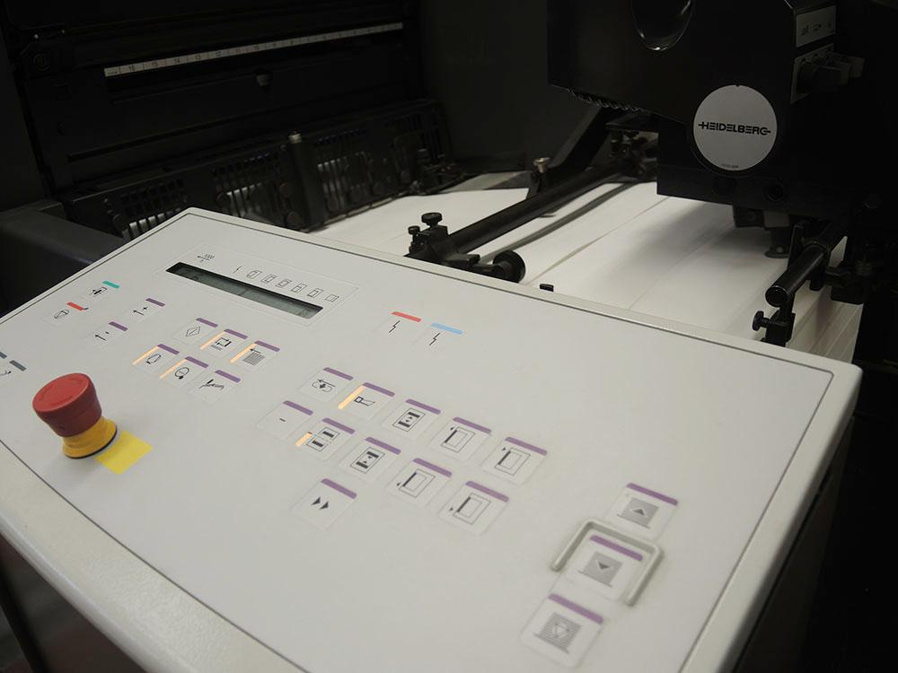 RWB Essen - Schulkalender 2019/20 - Der Schulkalender wird mit einer Zweifarben-Offsetdruckmaschine gedruckt.