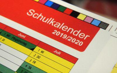 RWB Schulkalender 2019/20