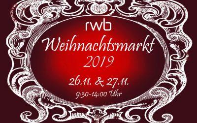 Bald kommt… der RWB-Weihnachtsmarkt!