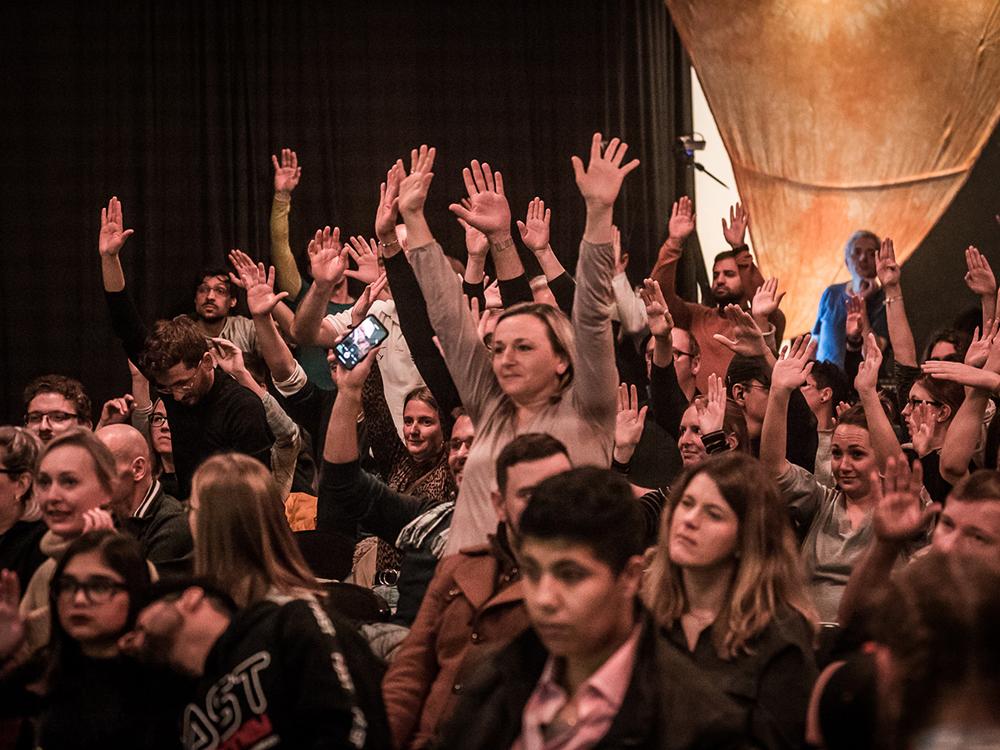 RWB Essen - Deaf Slam 6 - Das begeisterte Publikum