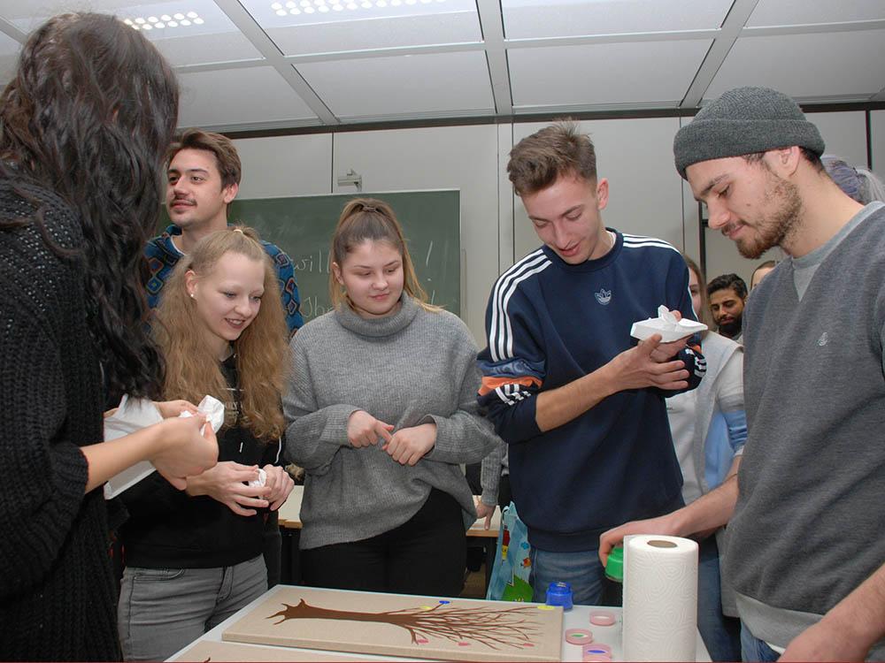RWB Essen - Begegnung und Erfahrungsaustausch im Sozialwesen - Gemeinsame Gestaltungsaktion zum Abschluss