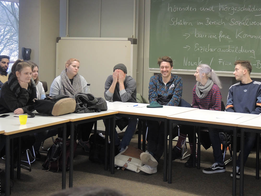 RWB Essen - Begegnung und Erfahrungsaustausch im Sozialwesen - Gemeinsame Schlussrunde und Feedback