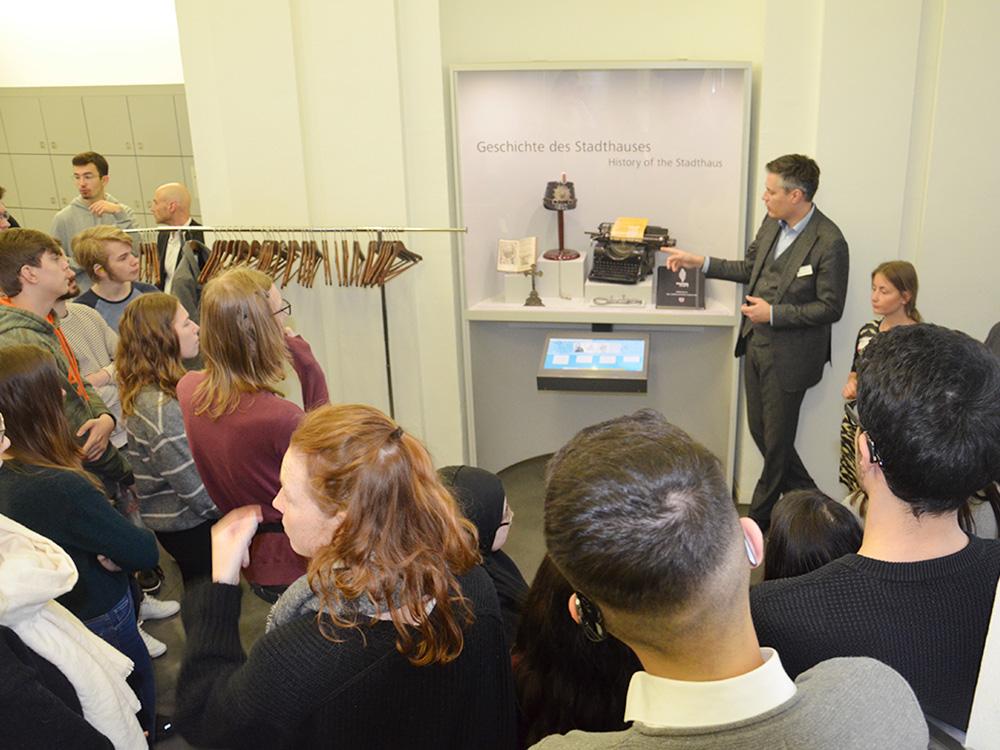 RWB Essen - Ein Tag in Düsseldorf - Besuch der Mahn- und Gedenkstätte