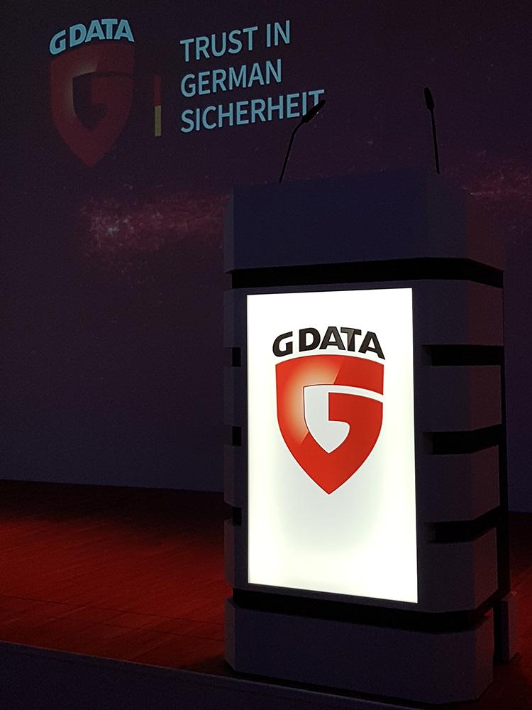 RWB Essen - Exkursion zu G Data - Veranstaltungsraum in der Firma G Data