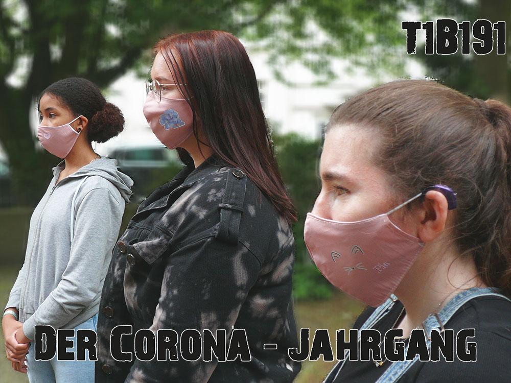 RWB Essen - Maskenprojekt - Klassenfoto mit Masken