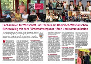 RWB Essen - Bericht über die Fachschule in der Life inSight