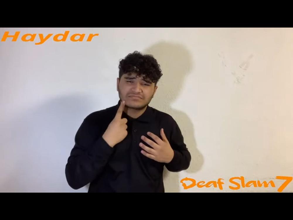 RWB Essen - DeafSlam 7 - Teilnehmer Haydar