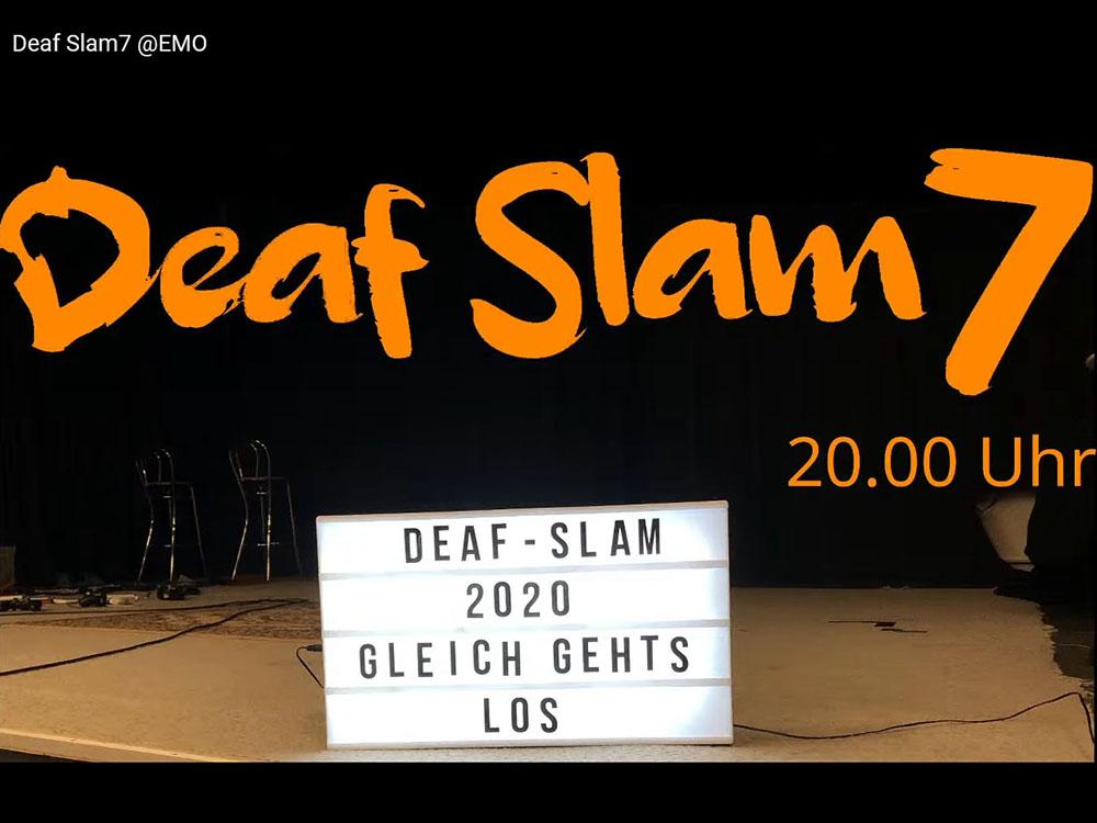 RWB Essen - DeafSlam 7 - Startbild vom Livestream