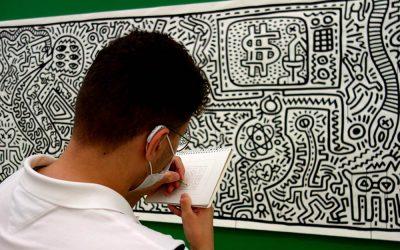 Auf den Spuren von Keith Haring – Besuch des Museums Folkwang