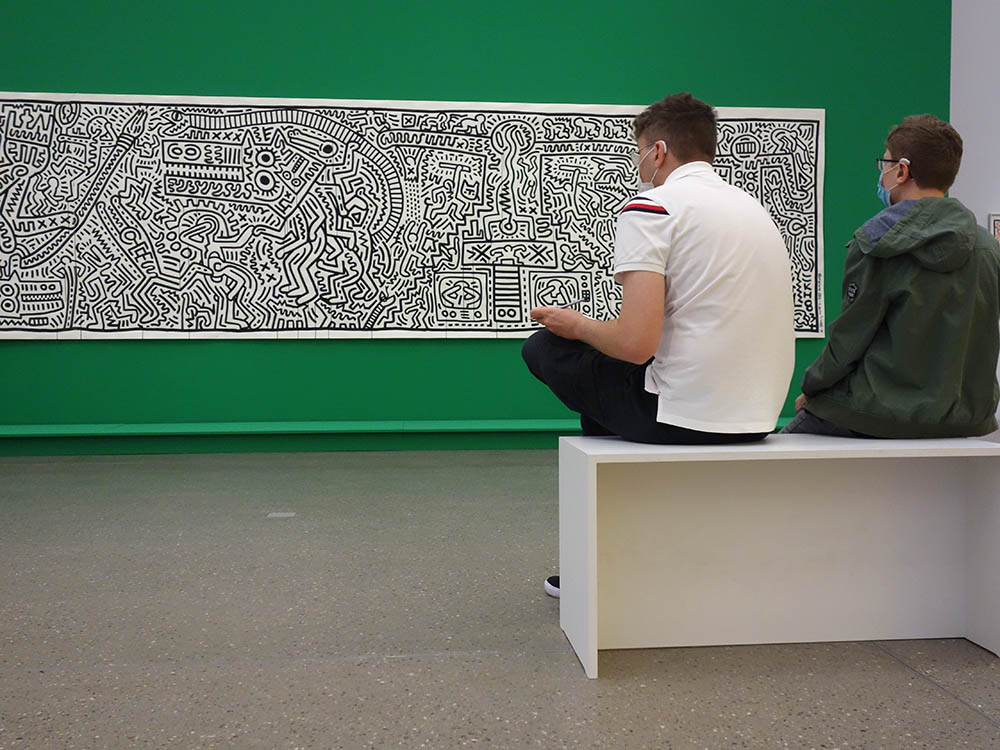 RWB Essen - Besuch des Museums Folkwang - Keith Haring